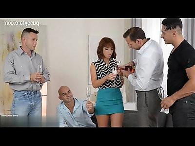 Horny cheating wife analfuck