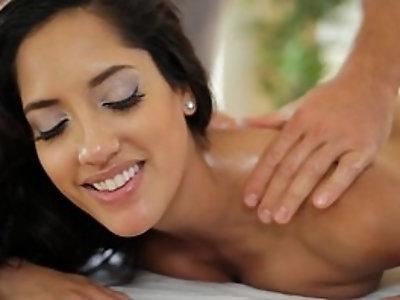 Latina horny massage