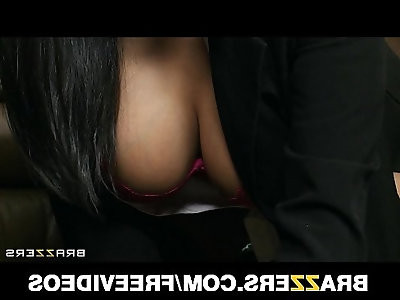 Submissive office assistant Missy Martinez finally fucks boss