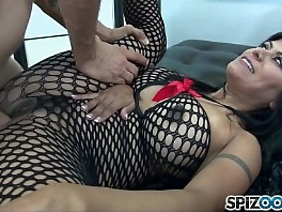 Spizoo gabby quinteros in a hardcore gang bang monster cock big tits and big booty