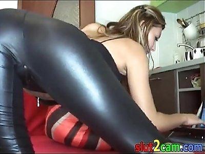 latex ass webcam