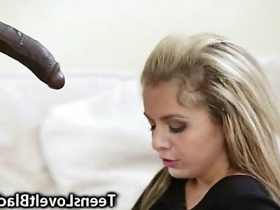 Teen Ravaged and Facialized by BBC!