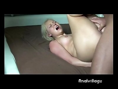 Rough Painal With Tied blonde