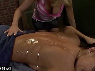 One hot lesbian session