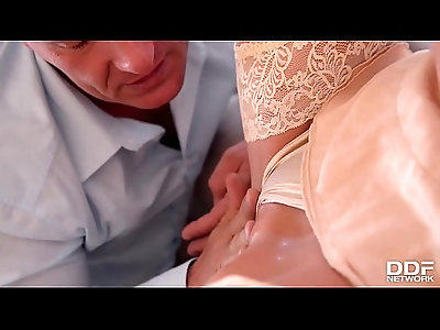 Police Officer gets fuck his gorgeous wife Lolly Gartner after hard day