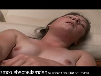 real college girl blasting herself with dildo