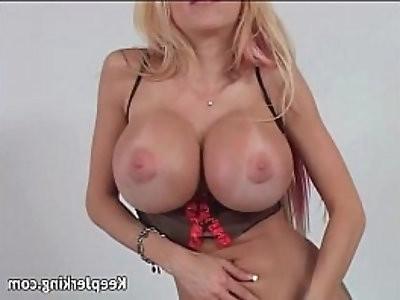 Busty blonde slut gets ass fucked really hard