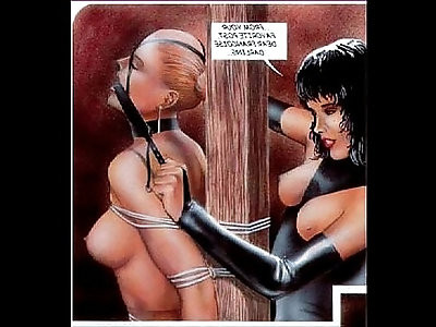 Strange Bizarre Sexual BDSM Comic