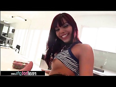 Real Hot Teen GF gina valentina In Amazing Sex On Tape clip