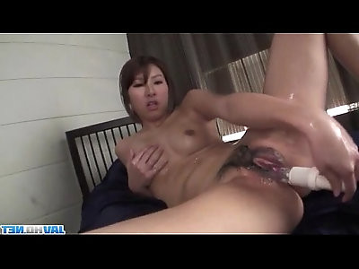 Mai Asahina lingerie babe with her soft pussy