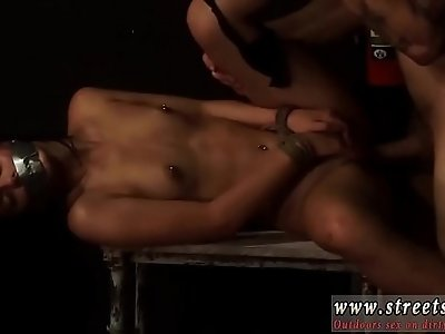 Outdoor anal orgy Petite, tattooed, and very pretty, Gina Valentina
