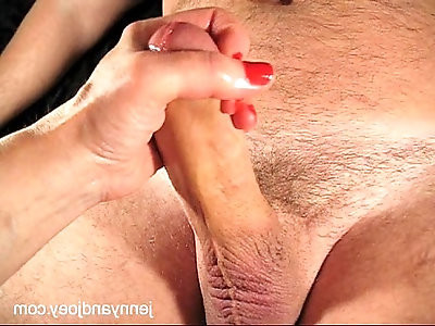 Gorgeous Cock Handjob