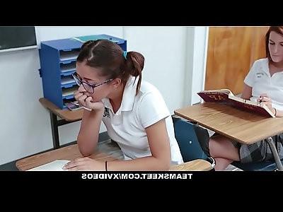 InnocentHigh Skinny Rebellious Teen Fucked After School