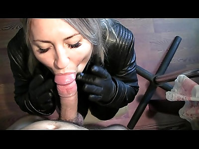 Leather Blowjob.WMV