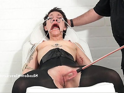 Medical fetish of asian mei mara in extreme bizarre bdsm and japanese patients