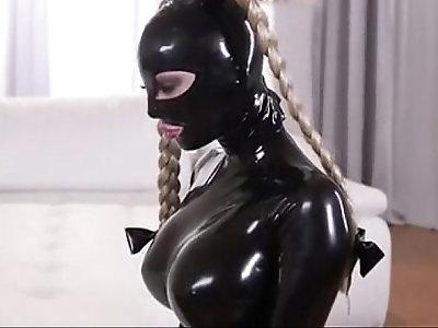 Latex slave lesbian punishment