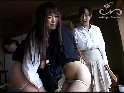 Spanked guest